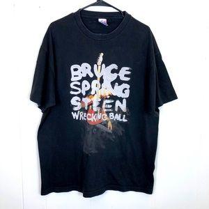 Bruce Springsteen Wrecking Ball Tour Shirt Sz XL